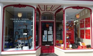Our new shop windows display: Film Festivals in Normandy
