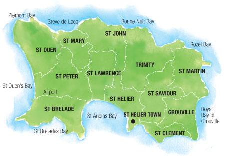 Carte de Jersey
